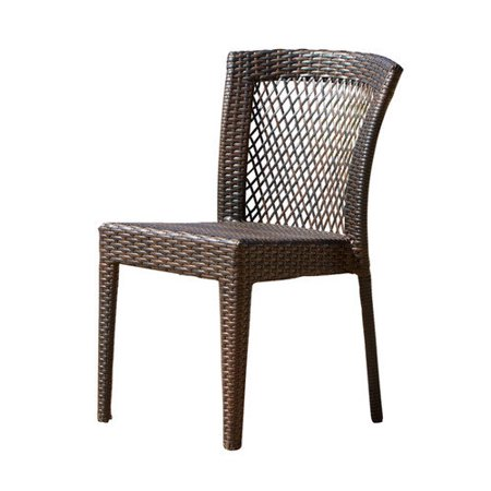 Dusk All-Weather Wicker Dining Chair - Set of 2 - Walmart.com