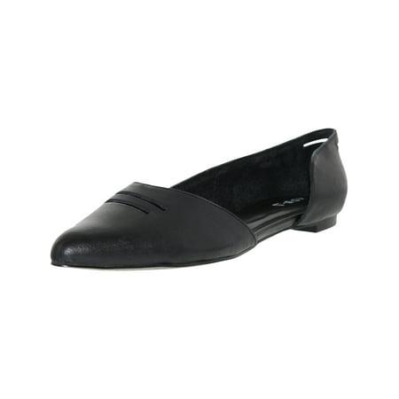 Kelsi Dagger Women's Nuevo Black Ankle-High Leather Flat Shoe - 6.5M (Flat Black Shoes)