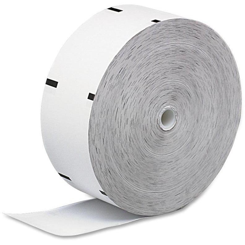 PM, PMC06507, ATM Receipt Rolls with Sensemark, 4 / Carton, White
