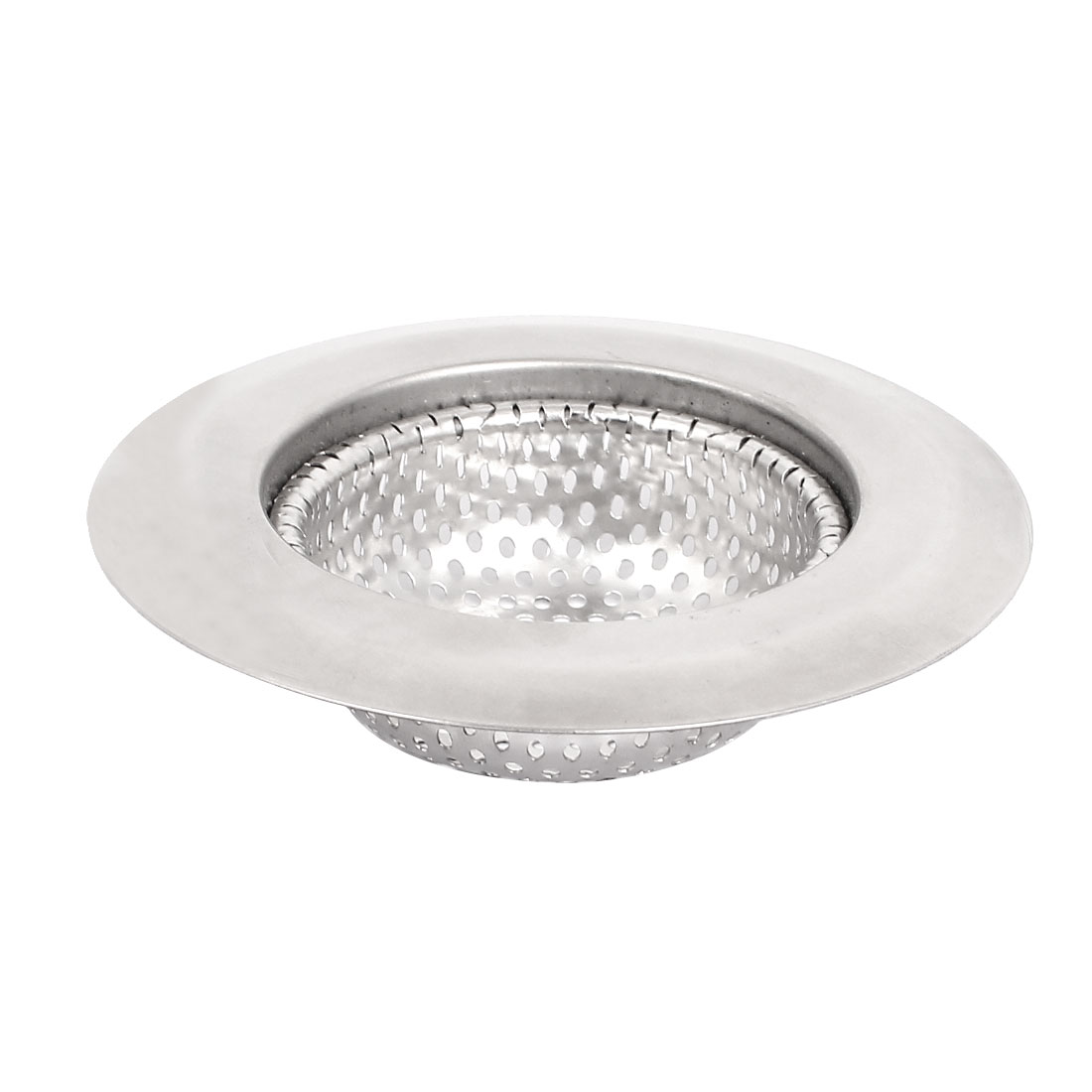 metal mesh sink stopper strainer basket shower bathtub drain net protector
