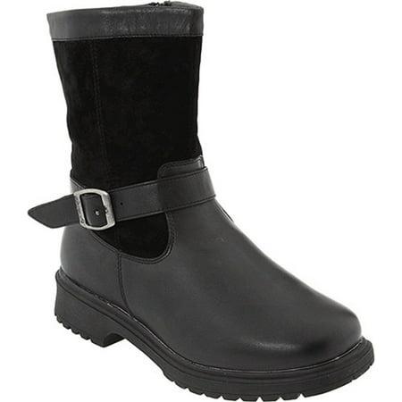 Propet Women's Kalinda Black Waterproof Boots 11 XX-Wide(4E) US ...