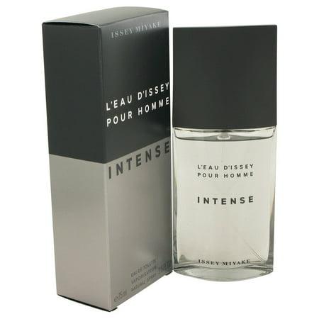 Issey Miyake L'eau D'Issey Pour Homme Intense Eau De Toilette Spray for Men 2.5