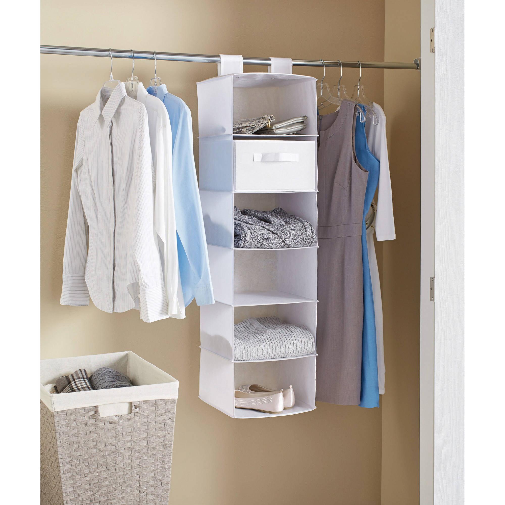 Mainstays 6-Shelf Organizer, 2-Pack