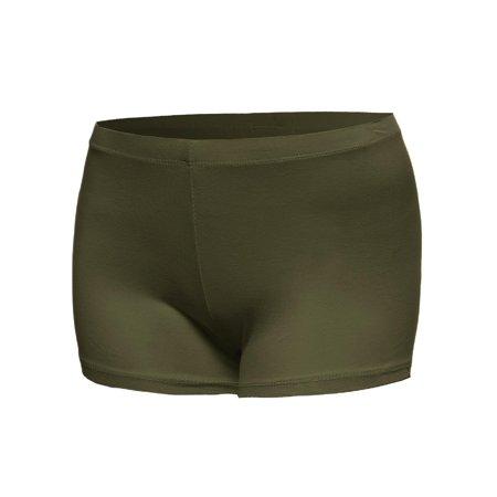 07a6a3b680800 FashionOutfit - FashionOutfit Women's Classic and Basic Essential Soft  Legging Under Shorts - Walmart.com
