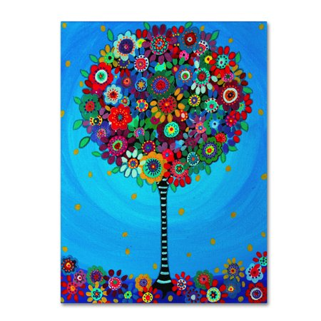 Life Fine Art (Trademark Fine Art 'Gay's Tree Of Life' Canvas Art by)