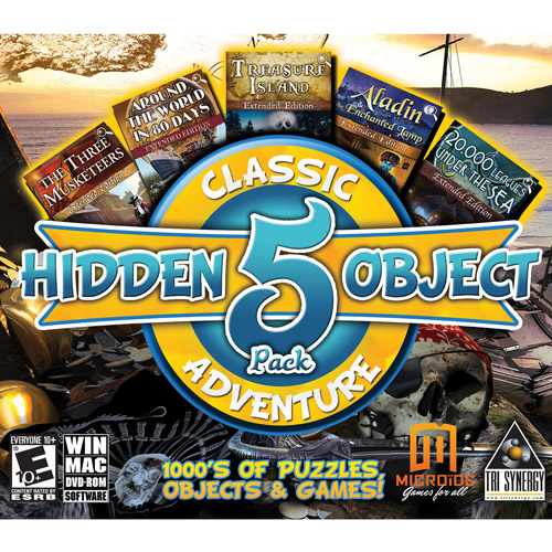Hidden Object Classic Adventures, 5pk (PC)