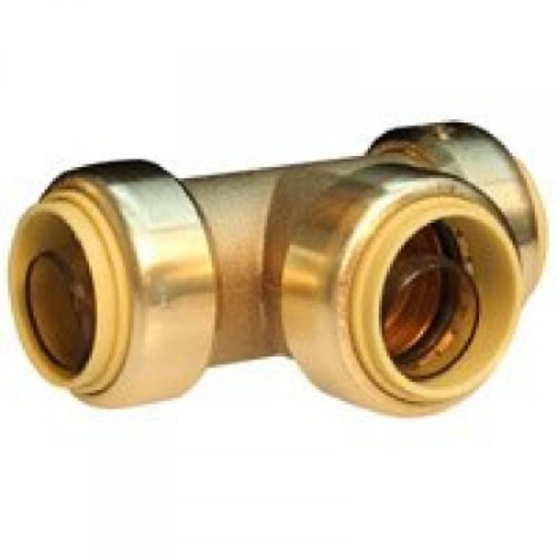 PUSHFIT TEE 1/2 PRO BITE Push It Fittings LF814R 845526001861
