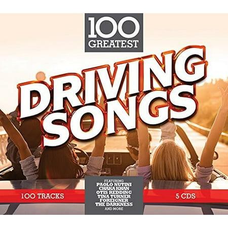 100 Greatest Driving Songs / Various (CD) (100 Halloween Rock Songs)