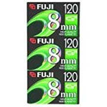 Fuji 3-Pack 120-Minute 8mm Tapes (8MM3PK)
