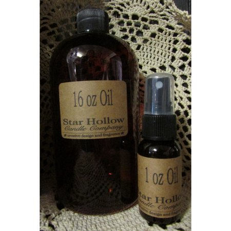 Star Hollow Candle Company Cinnamon Brooms Refresher Oil with Spray Cap