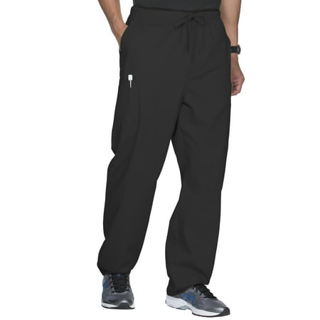 Scrubstar Unisex Core Essentials Pull On Scrub Pant with Front Zipper](Halloween Scrubs For Men)