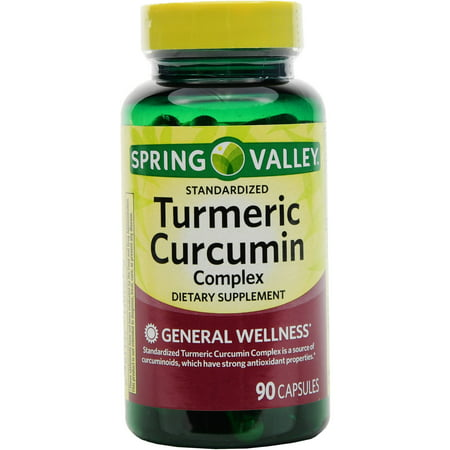 Spring Valley Turmeric Curcumin Complex Capsules  500 Mg  90 Ct