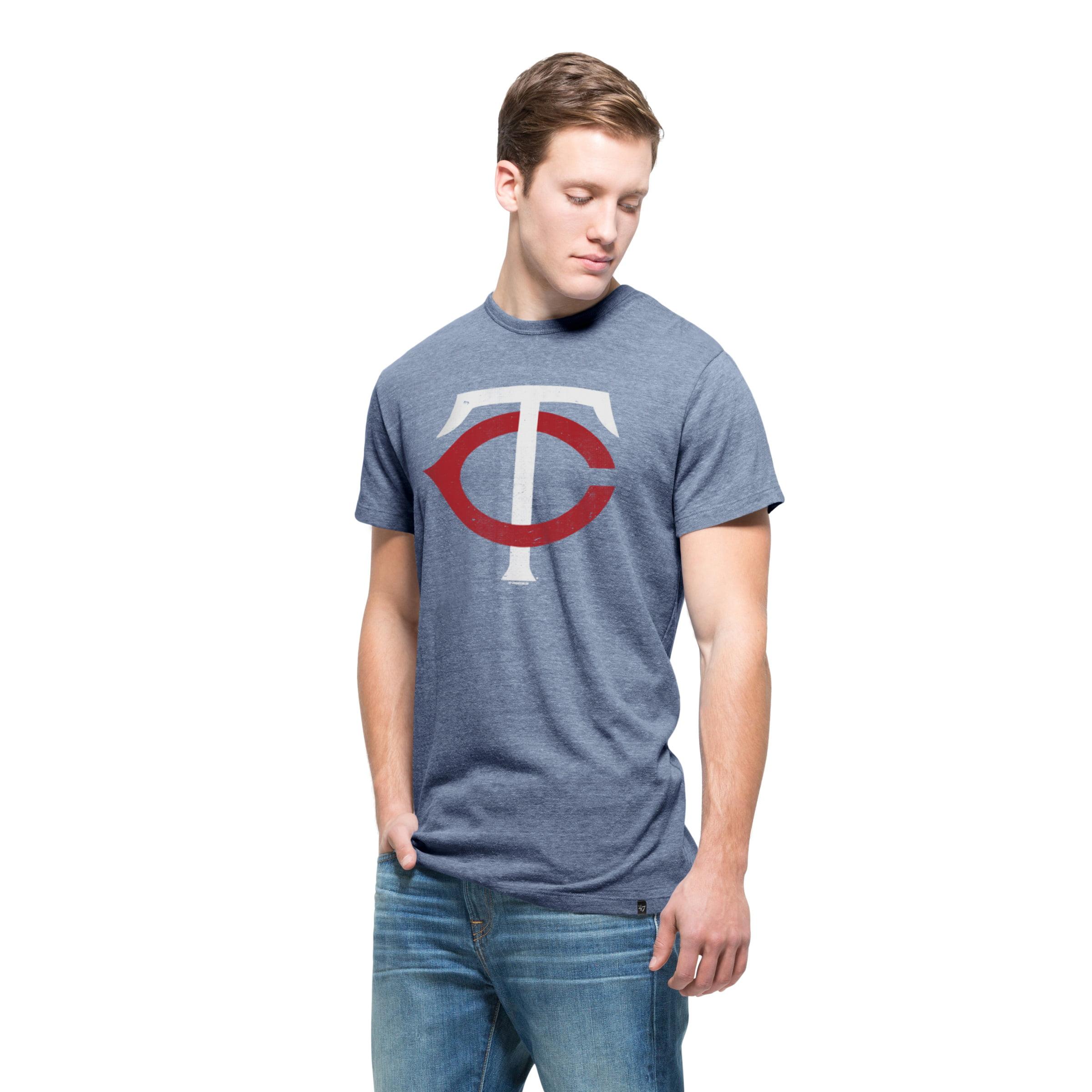 Minnesota Twins '47 Tri-Blend State T-Shirt - Navy