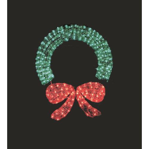 LB International Wreath Frame Christmas Decoration
