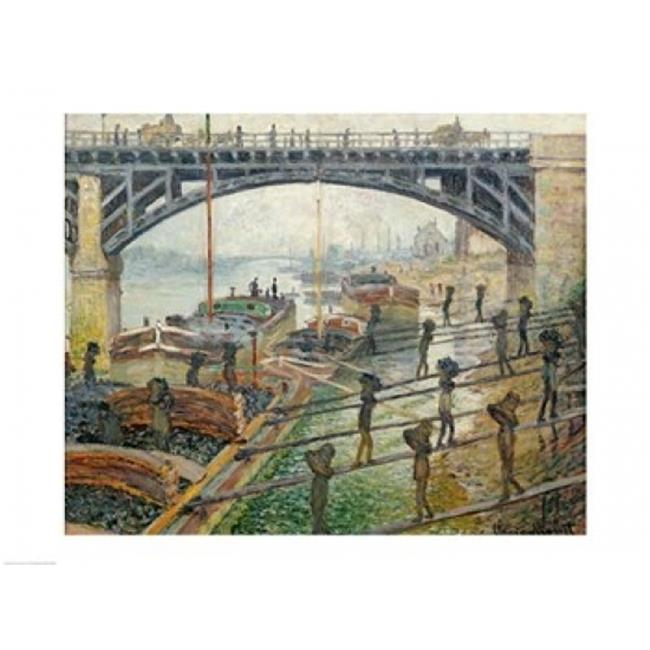 Posterazzi BALXIR128683LARGE The Stream of Robec at Rouen 1872 Poster Print by Claude Monet - 36 x 24 in. - Large - image 1 of 1