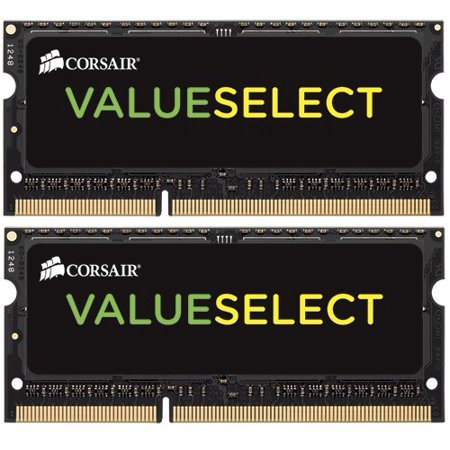 - Corsair 16GB (2x8GB) Dual Channel DDR3 SODIMM Memory Kit (CMSO16GX3M2A1333C9)