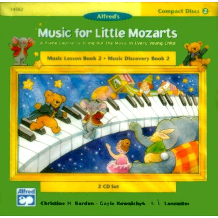 Music for Little Mozarts: Music for Little Mozarts 2-CD Sets for Lesson and Discovery Books: A Piano Course to Bring Out the Music in Every Young Child (Level 2), 2 CDs (Audiobook) (Halloween Music Lessons)
