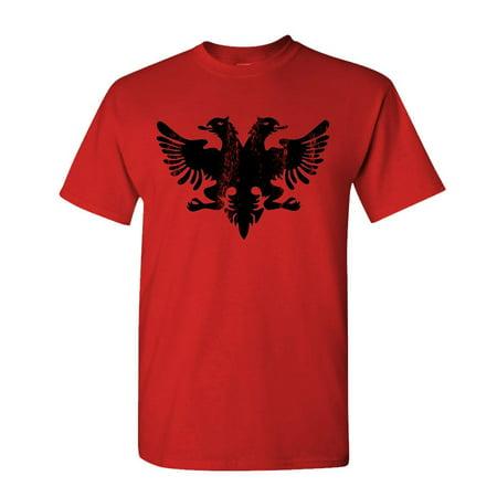 ALBANIAN EAGLE - funny retro albania flag - Cotton Unisex -
