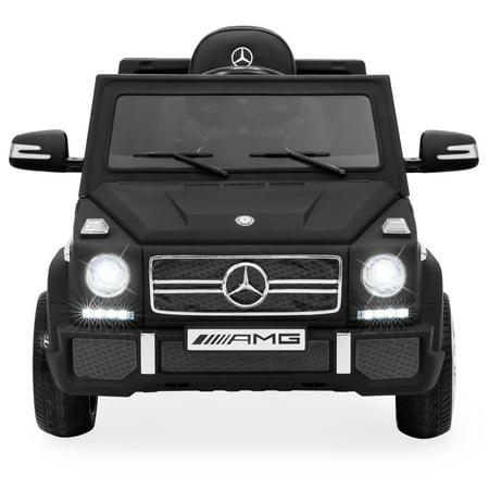 Mercedes Benz E320 Coupe (Best Choice Products 12V Kids Battery Powered Licensed Mercedes-Benz G65 SUV RC Ride-On Car w/ Parent Control, Built-In Speakers, LED Lights, AUX, 2 Speeds - Matte)