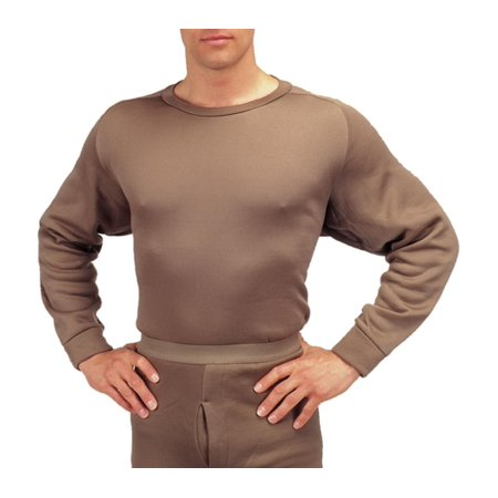 Crew Neck Polypro Thermal Long Underwear Shirt