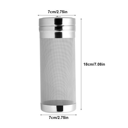 Filtre à bière en acier inoxydable de 300 microns pour trémie sèche de café maison - image 11 de 15