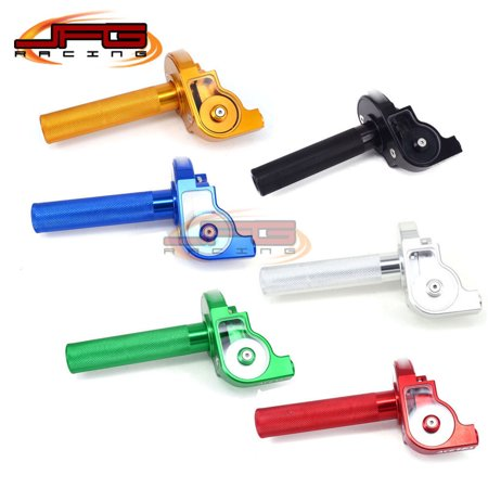 """7/8"""" Handlebar CNC Twister Throttle Tube Clamp Assembly Pit Dirt Bike Motorcycle - image 8 of 8"""
