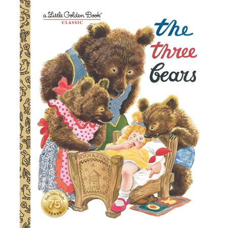 The Three Bears (Hardcover) - Three Bears Halloween Book