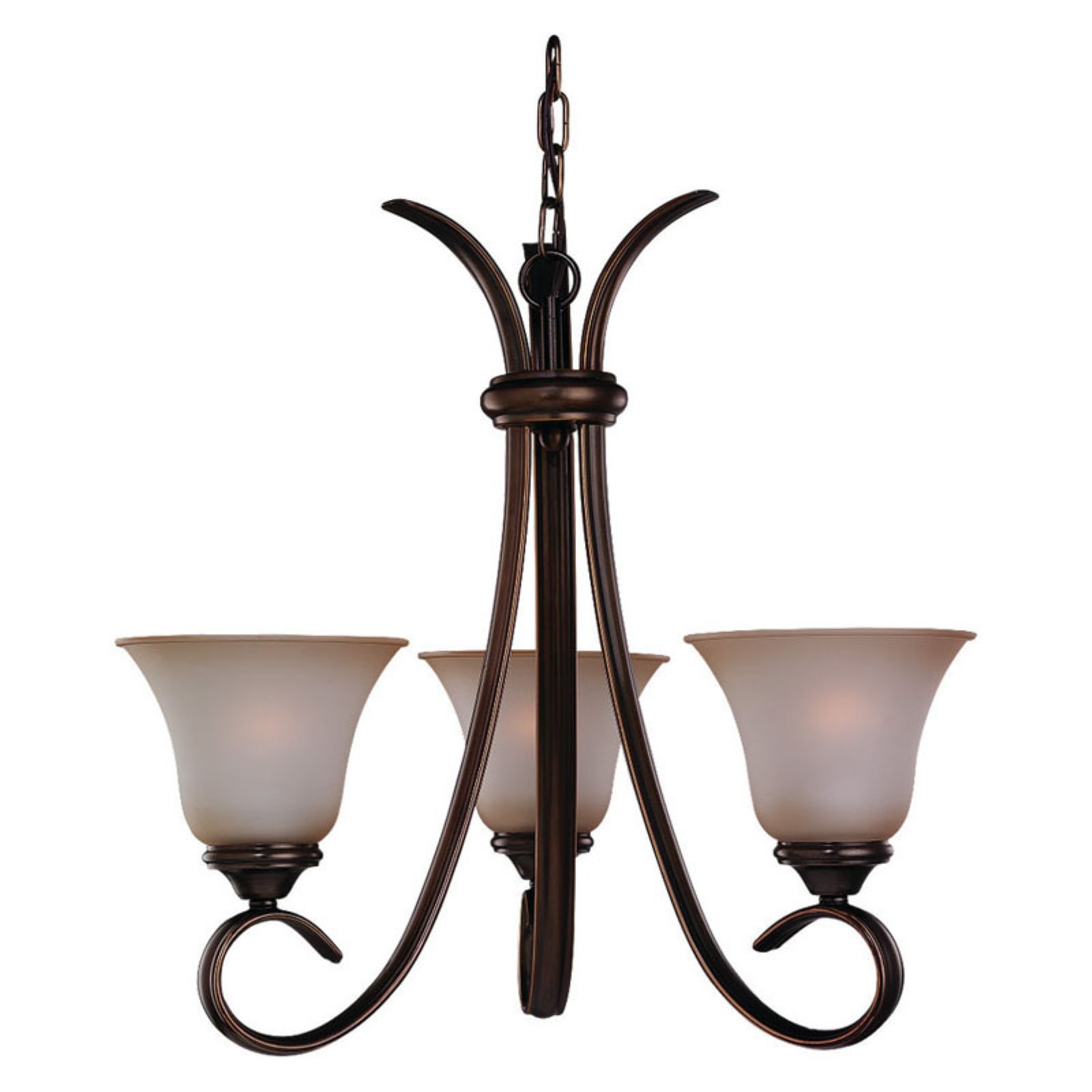 Sea Gull Rialto Chandelier - 21.5W in. Russet Bronze