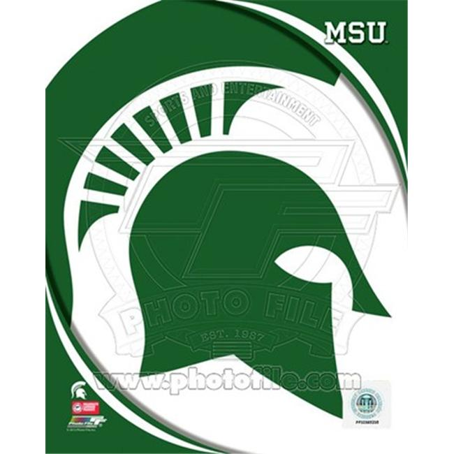 Photofile PFSAAOK07601 Michigan State University Spartans Team Logo Poster by Unknown -8. 00 x 10. 00