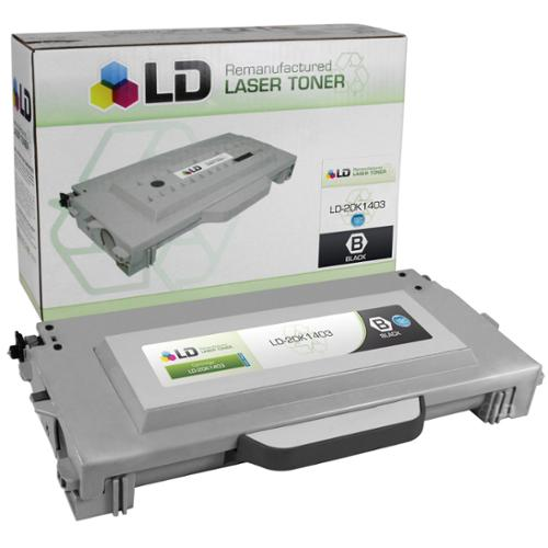 LD Remanufactured High Yield Black Laser Toner Cartridge for Lexmark 20K1403