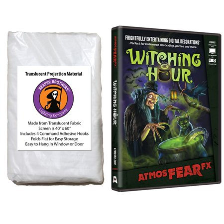 AtmosfearFX Witching Hour Halloween DVD + Reaper Bros 60