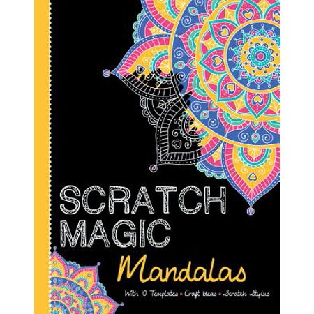 Mandalas : With 10 Templates, Craft Ideas, and Scratch Stylus - Craft Idea