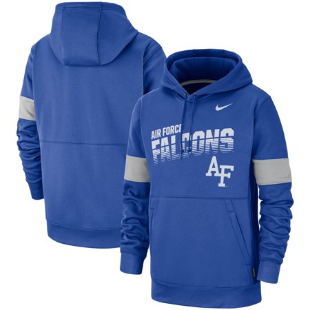 Air Force Falcons Nike 2019 Sideline Therma-FIT Perfromance Hoodie - Royal ()