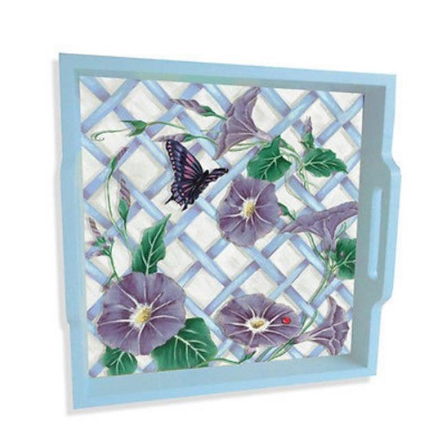 Lexington Studios 16037 Morning Glories 15 in. Serving Tray by