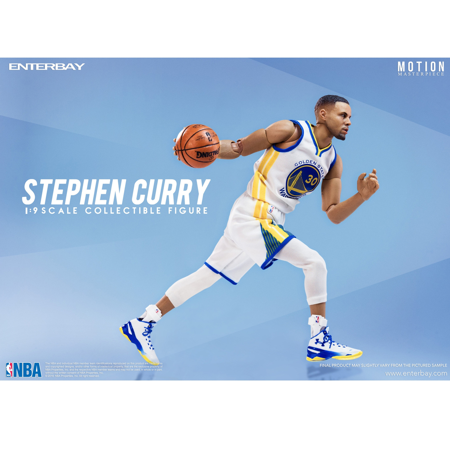6ffc92a02b41 Enterbay X 1 9 Real Masterpiece NBA Stephen Curry Action Figures Figurine  Collection MM-1201 (Gift Idea) - Walmart.com