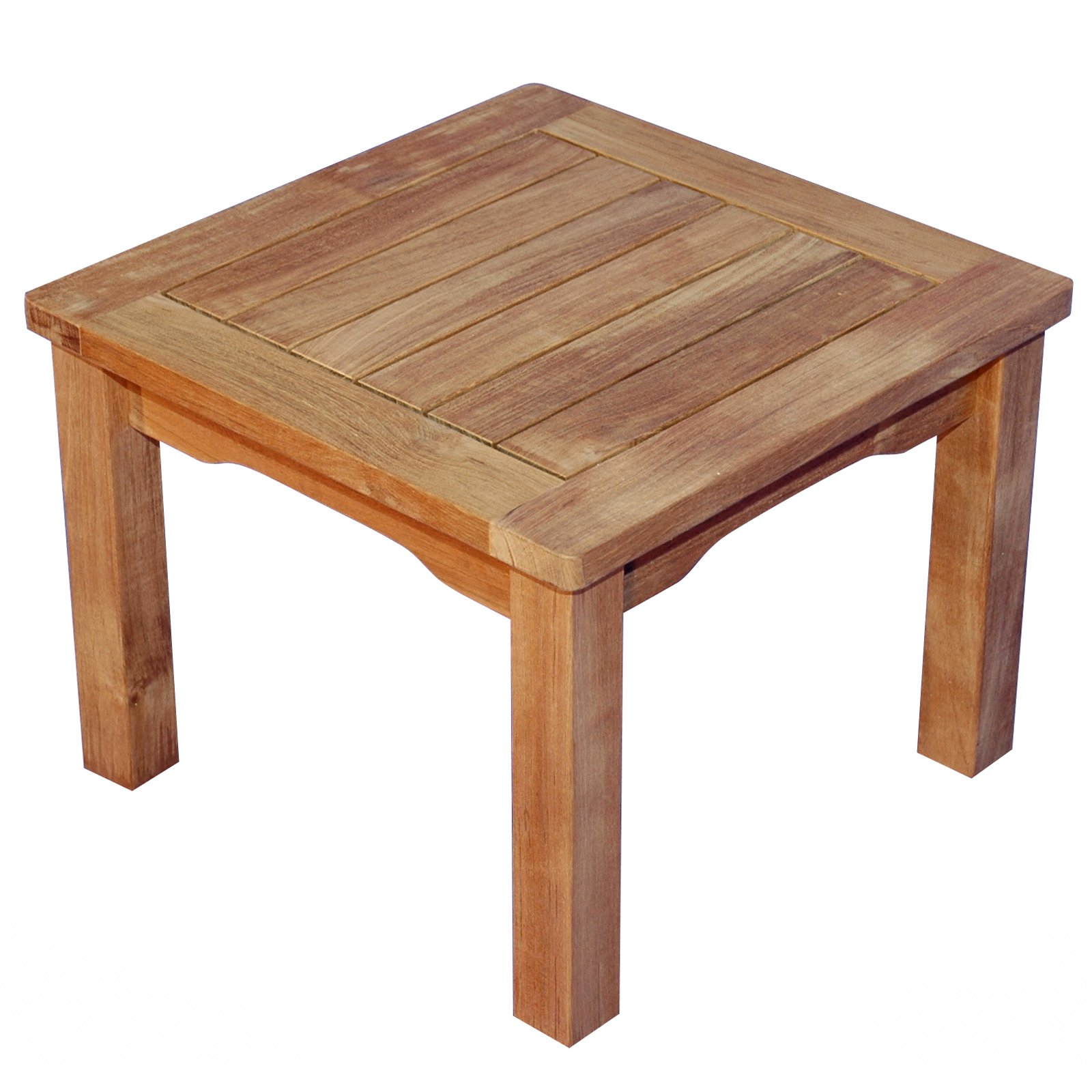 Regal Teak Mission Side Table