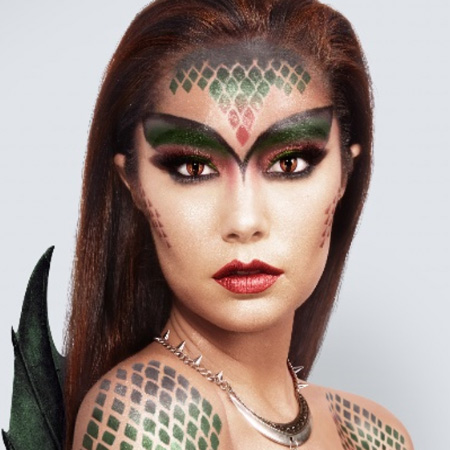 dragon princess halloween makeup collection