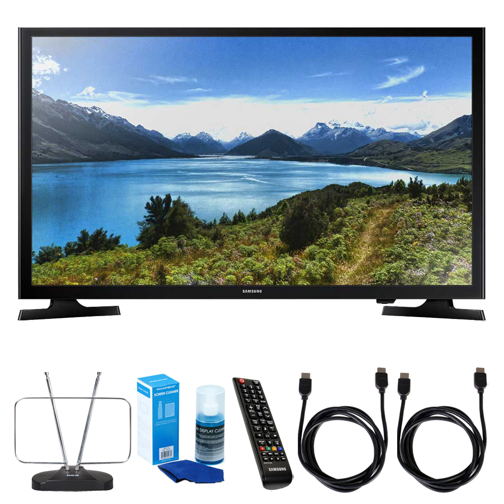 Samsung UN32J4000) 32-Inch 720p LED TV w/ TV Cut the Cord...