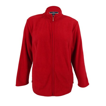 1044909ba6899 Karen Scott - Karen Scott Women s Plus Size Zeroproof Fleece Jacket ...