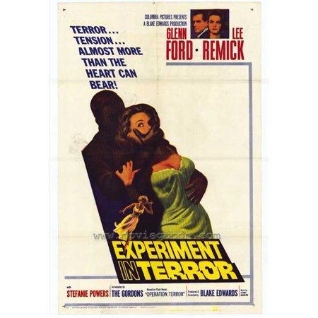 Experiment in Terror POSTER Movie Mini - Halloween Experiments