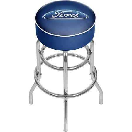 Ford Padded Swivel Bar Stool, Ford (Oval Swivel)
