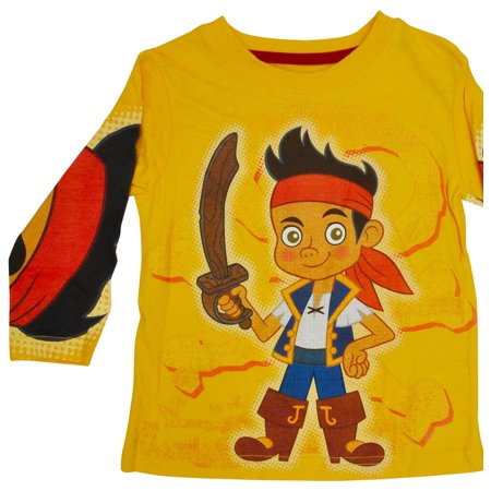 Toddler Boys Jake & The Neverland Pirates Long Sleeve Shirt Yellow