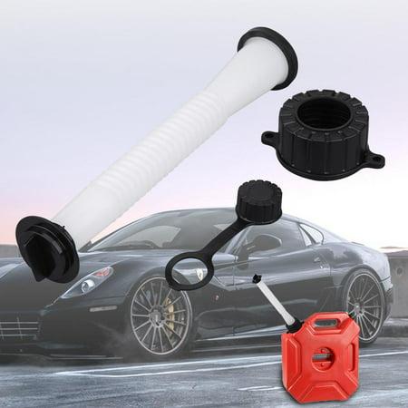 Ymiko Replacement Fuel Gas Can Spout Stopper Screw Cap Kit for Rubbermaid Kolpin Gott Jerry Can,Gas Can Flex Spout,Replacement Flex (Spout Escutcheon Kit)