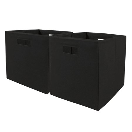 Better Homes And Gardens Fabric Cube Storage Bins X Set Of 2 Multiple Colors
