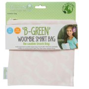 Woombie BGreen Snack Bags Blushing Mustache, One Size