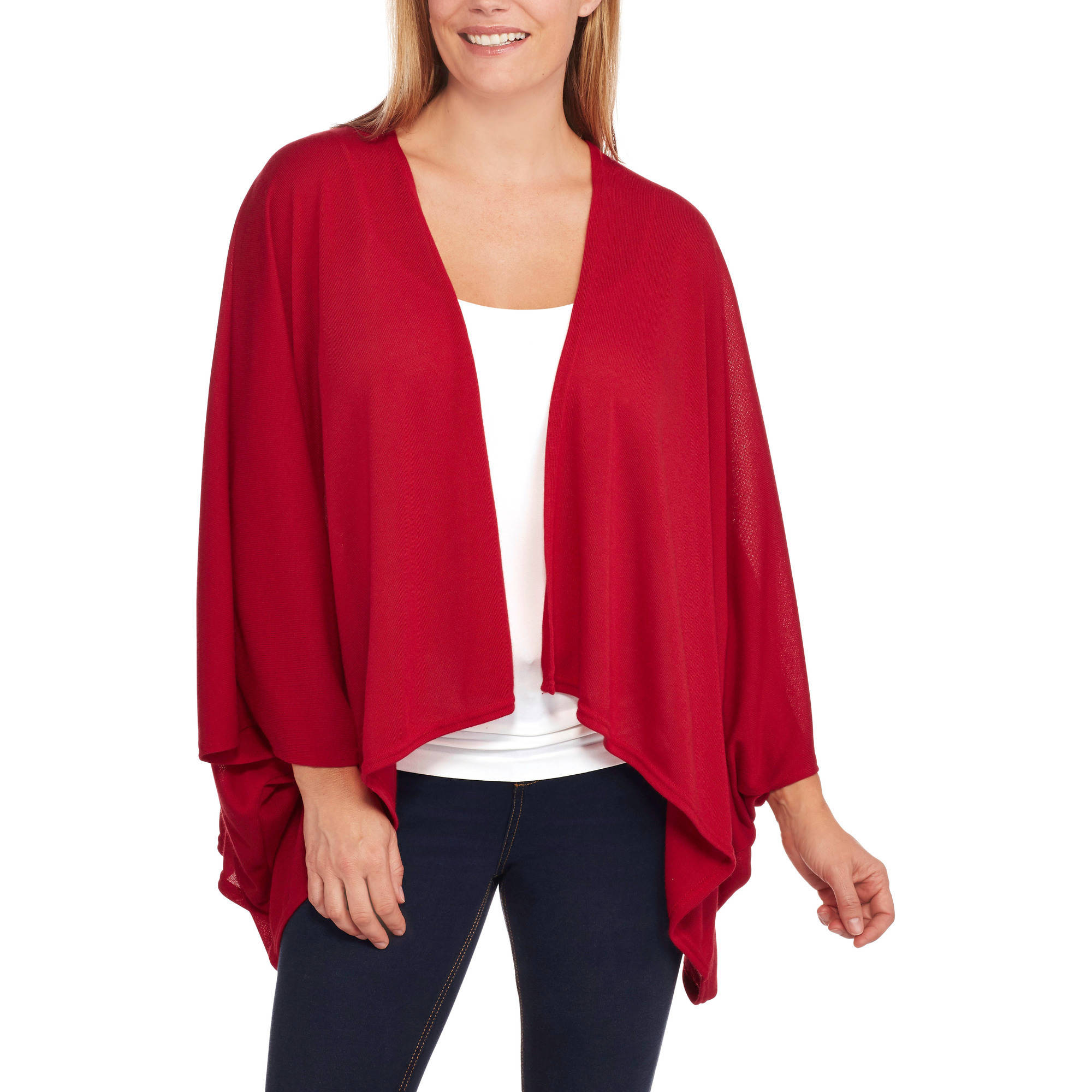 Light Weight Solid Knit Topper