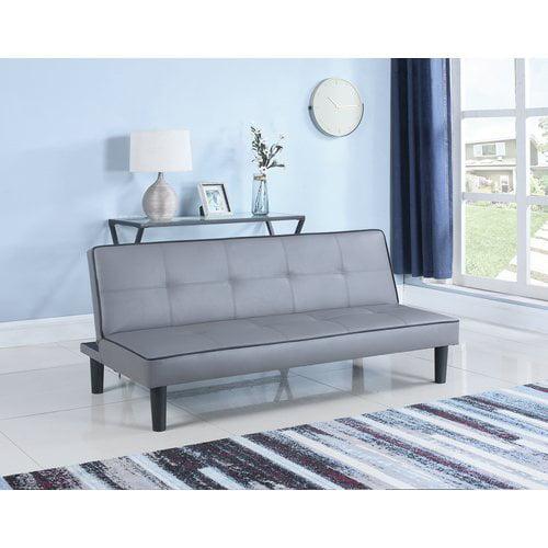 Coaster Sofa Bed in Grey/Black