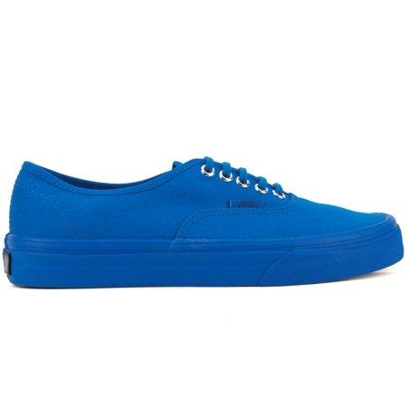 3750fdbc08 Vans - Vans VN-0A38EMMQ9  Authentic Primary Mono Imperial Blue Low Top  Sneaker (8 B(M) US Women   6.5 D(M) US Men