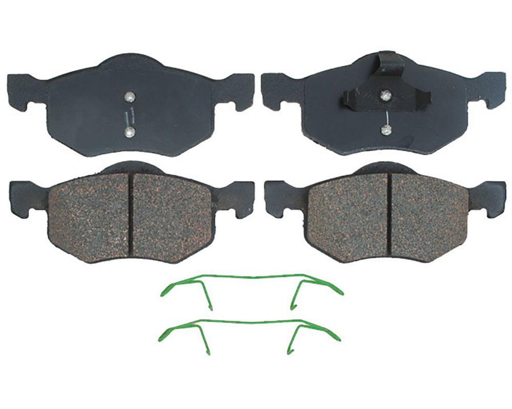 ACDelco 14D843CH Advantage Ceramic Front Disc Brake Pad Set