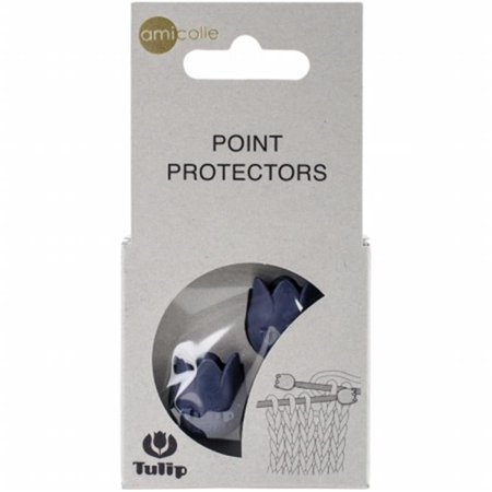 Tulip Point Protectors-Navy/Large